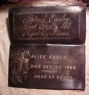 The Birth Record and Death Record on the Coffin Plate of Homer C King is Free Genealogy