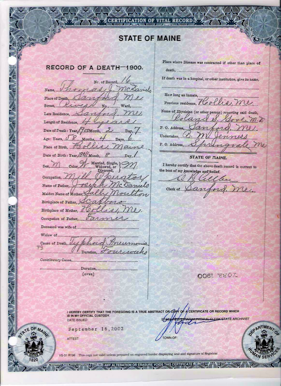 Death certificates xflitez Images