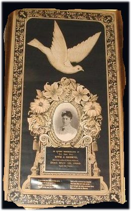 Mourning Print From The Victorian Era For Effie J Shonyo