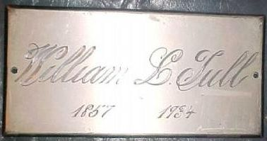 The Free Death Record on the Coffin Plate of William Tull is Free Genealogy