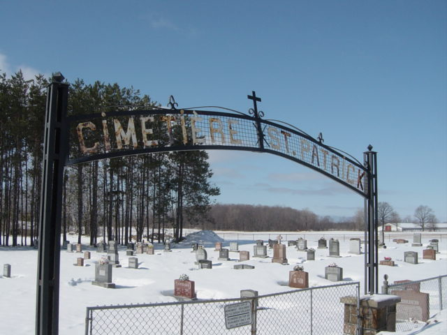 Find St Patrick Roman Catholic Cemetery Perkinsfield Simcoe County Ontarioon Ancestors at Rest