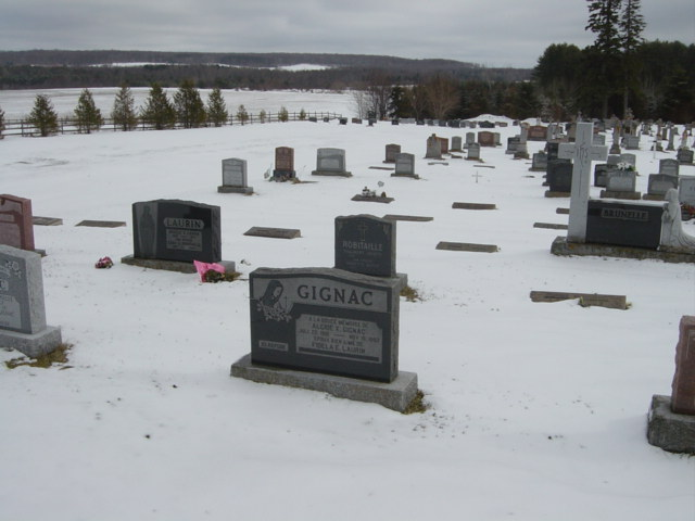Find Ste. Croix Roman Catholic Cemetery Lafontaine on Ancestors at Rest
